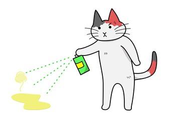 猫のにおい消臭方法