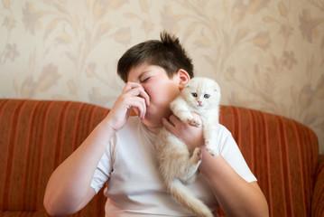 猫の匂い来客