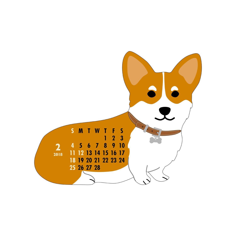 コーギーのカレンダー